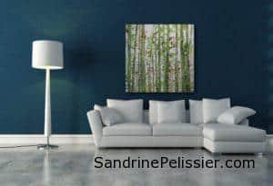 west coast landscape painting by North Vancouver artist Sandrine Pelissier