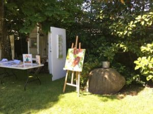 Art in the Garden in North Vancouver