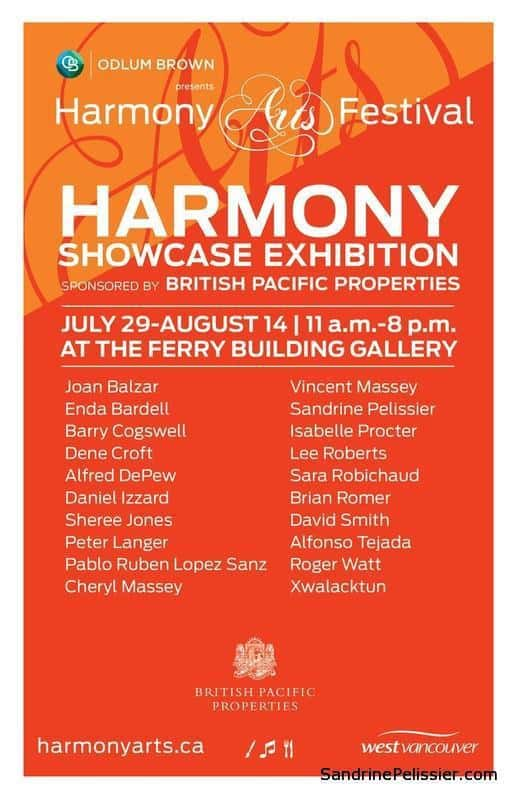 Harmony arts festival in west Vancouver