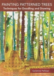 painting patterned trees online art class