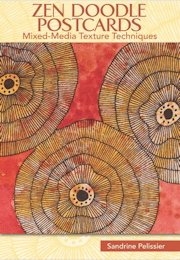 zen doodle postcards by North Vancouver artist Sandrine Pelissier