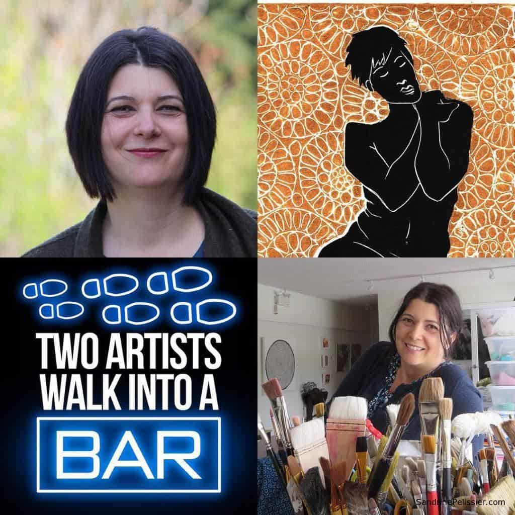 2 artists walk into a bar podcast