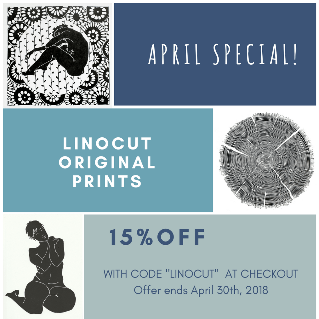 linoprint sale in North Vancouver